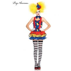 Costume da Clown GIGGLES THE CLOWN